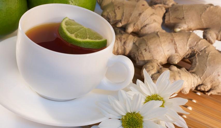 Ingverjev čaj - aromatičen in odličen za izkašljevanje