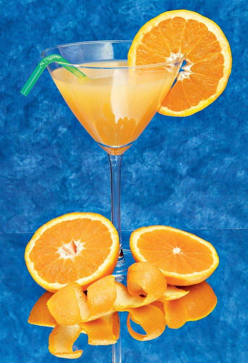 pomarančno-mandljev koktajl