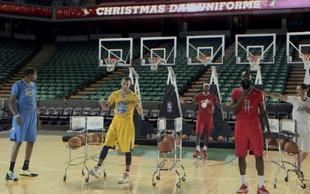 Fantastična božična simfonija izpod NBA koša