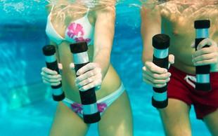 Zakaj je dobra vodna telovadba?