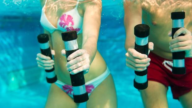 Zakaj je dobra vodna telovadba? (foto: Shutterstock.com)