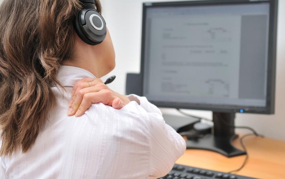 Pomoč proti napetosti v zatilju (foto: Shutterstock.com)