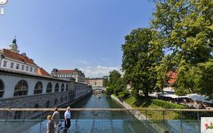 Znani slovenski kraji na Google Street View