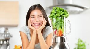 V dobri kondiciji in zdravi z vegansko hrano