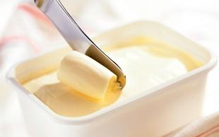 Dobre in slabe maščobe v sodobnih margarinah