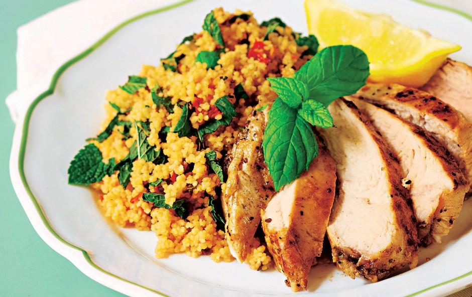 Recept: Zelenjavna enolončnica in okusen limonin piščanec