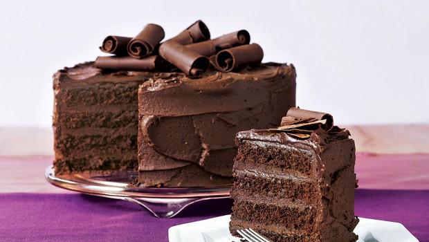 Recept za čokoladno torto s kremo iz temne čokolade (foto: Lisa)