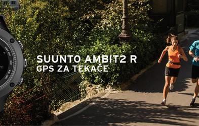 Suunto predstavlja novi tekaški instrument: Ambit2 R - GPS za tekače