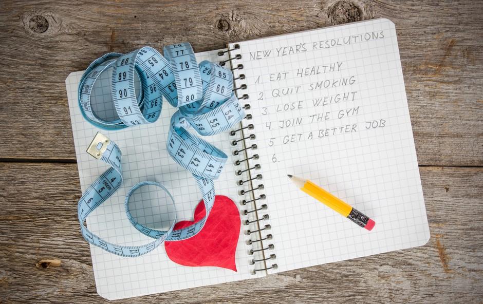 Težava novoletnih zaobljub (foto: Shutterstock.com)