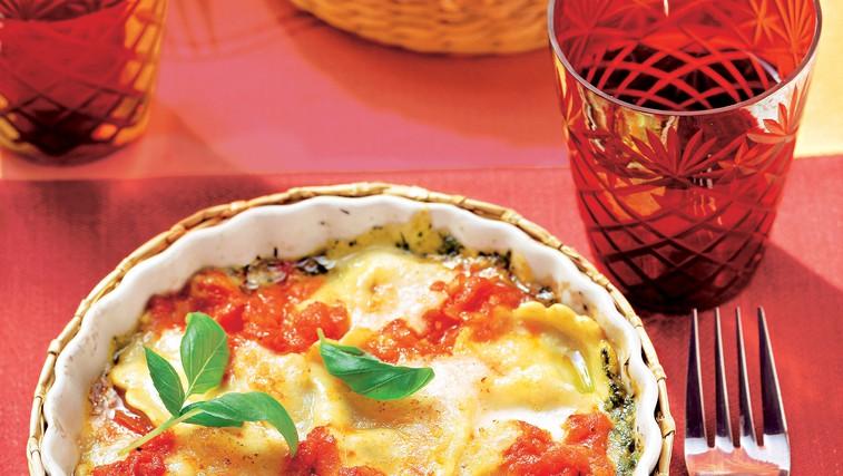 Recept za narastek z ravioli (foto: stockfood photo)