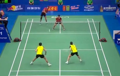 Še kdo misli, da badminton ni zanimiv šport?