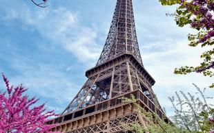 Romantična pomlad v Parizu
