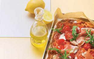 Pica s šunko in tremi vrstami sira