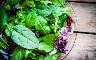 Moč zelenolistne zelenjave