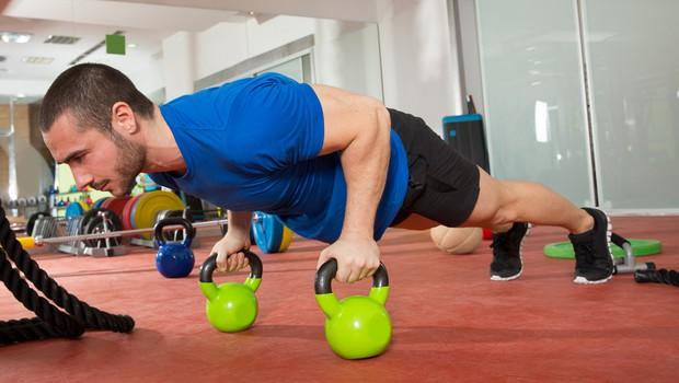 Trening z neskončno kombinacijo vaj (foto: Shutterstock.com)