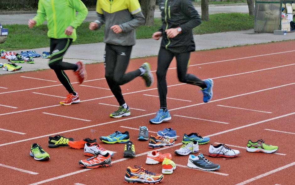 Veliki test tekaških copat 2014 (foto: Aleš Pavletič)