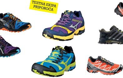 Test tekaških copat 2014: Copate za tek po neurejenih terenih