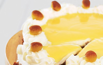 Torta z jajčnim likerjem
