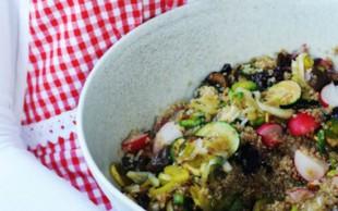 Recept: Kvinojina solata