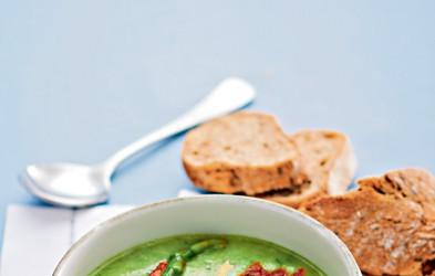 Porova juha z beluši