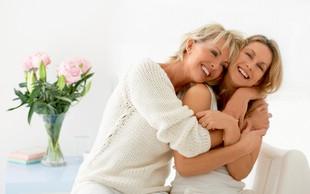 Je mogoče, da je mama tvoja najboljša prijateljica?