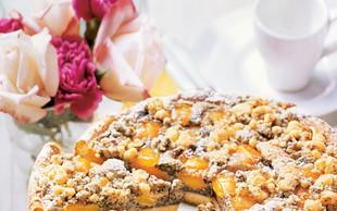 Marelični makov kolač