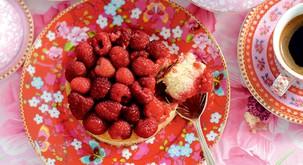 Recept: Malinov kolač