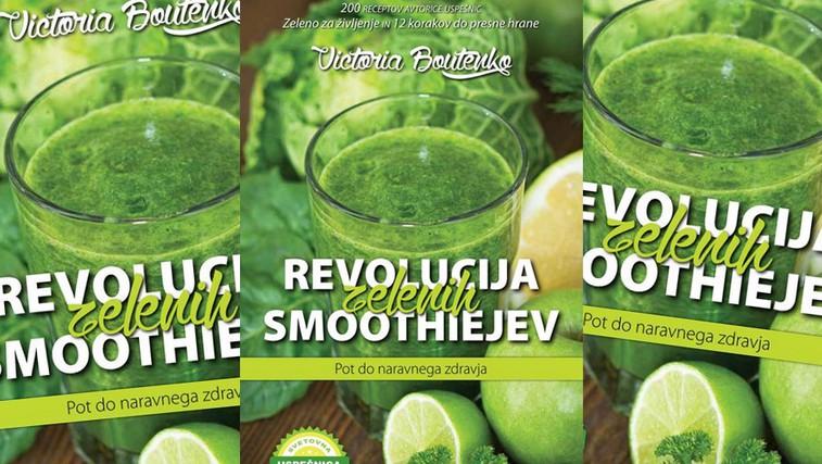 Podarili smo knjigo: Revolucija zelenih smoothiejev - pot do naravnega zdravja (foto: Promocijsko gradivo)