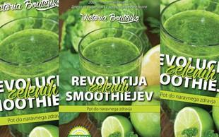 Podarili smo knjigo: Revolucija zelenih smoothiejev - pot do naravnega zdravja
