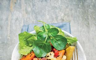 Solata z mešano zelenjavo