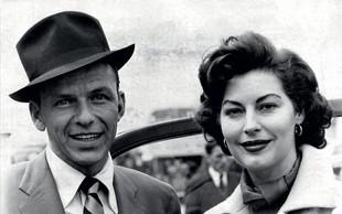 Ljubezenska zgodba: Ave Gardner in Franka Sinatre