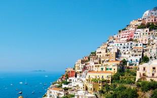 Italijanska obala Amalfi je ena najlepših na svetu