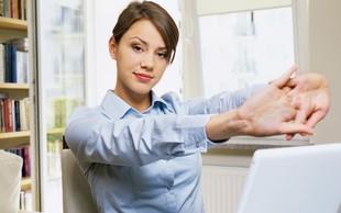 Praktični nasveti za telesni drži prijazno delo z računalnikom
