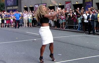 Serena Williams: Tenis 'izziv' sredi Manhattna