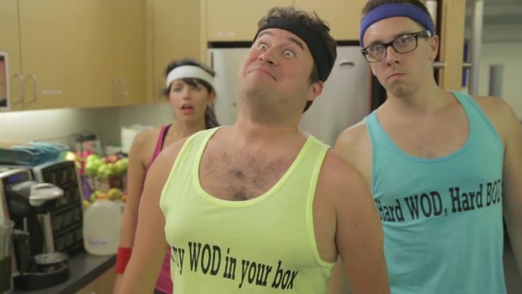 Malce drugačni CrossFit fanatiki (foto: College Humour)