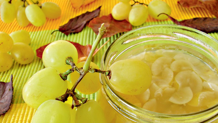 Marmelada iz belega grozdja (foto: revija Čarovnija Okusa)