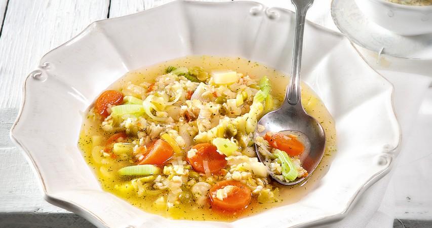 Gosta aromatična juha z domačo zelenjavo