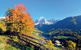 Čudoviti kraji v Alpskih dolinah