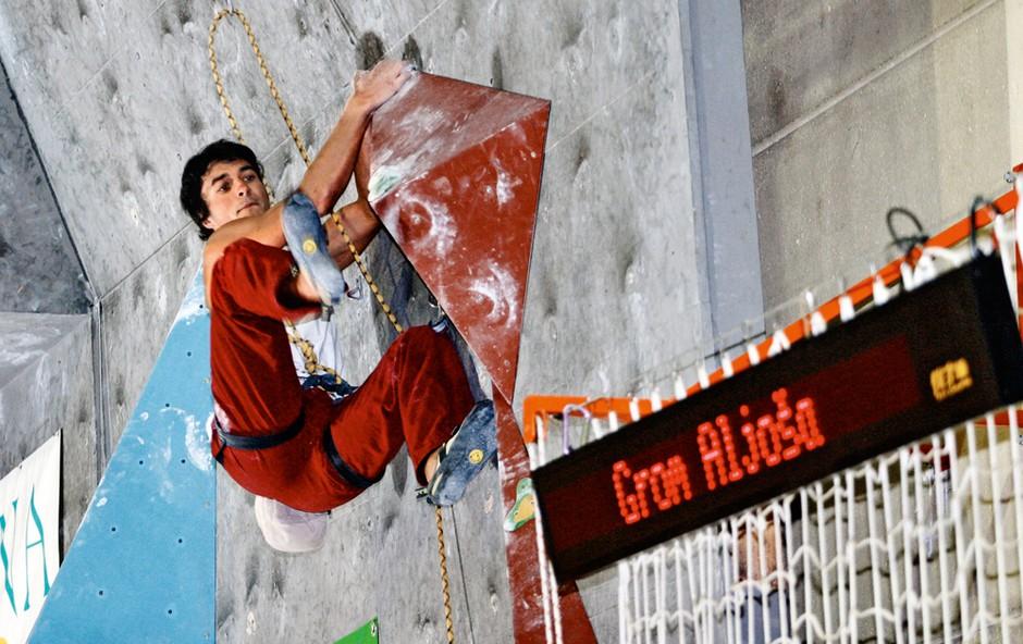 Aljoša Grom: 'V plezanje sem čisto zatrepan' (foto: osebni arhiv Aljoša Grom)