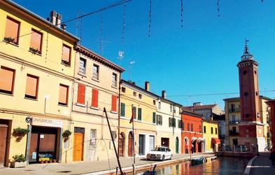 Comacchio – kraj na trinajstih otočkih