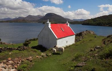 Foto: Škotska - dežela, kjer se srečajo nasprotja