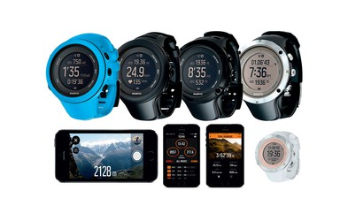 Odlična tekaška pripomočka: Suunto ambit3 sport in ambit3 peak