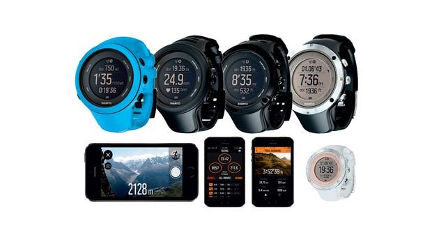 Odlična tekaška pripomočka: Suunto ambit3 sport in ambit3 peak (foto: www.suunto.com)
