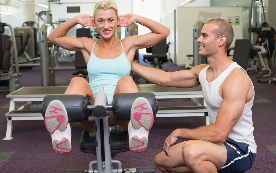 Vadba na trenažerjih ali z lastno telesno težo? (foto: Profimedia)
