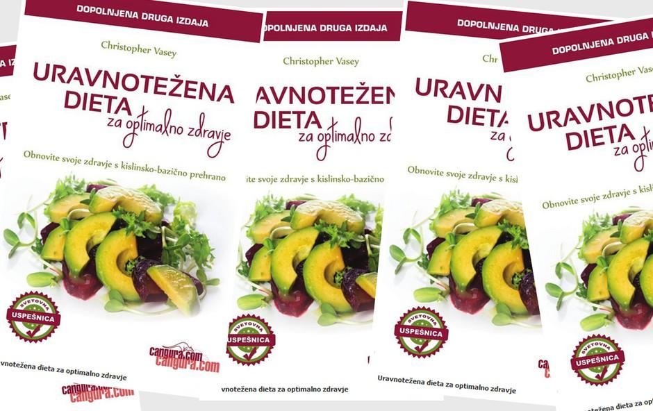 Podarjamo knjigo: Uravnotežena dieta za optimalno zdravje