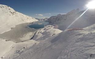 Največ snega imajo trenutno na Mölltalu