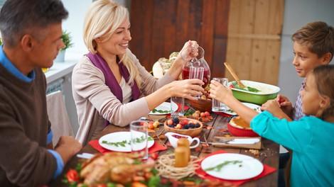 Namigi za manj maščobe v božičnih jedeh