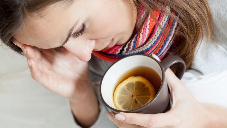 7 naravnih zdravil za pomoč pri vnetem grlu in prehladu (foto: Shutterstock.com)