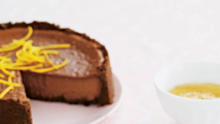 Čokoladni kolač s citrusi (foto: stockfood photo)