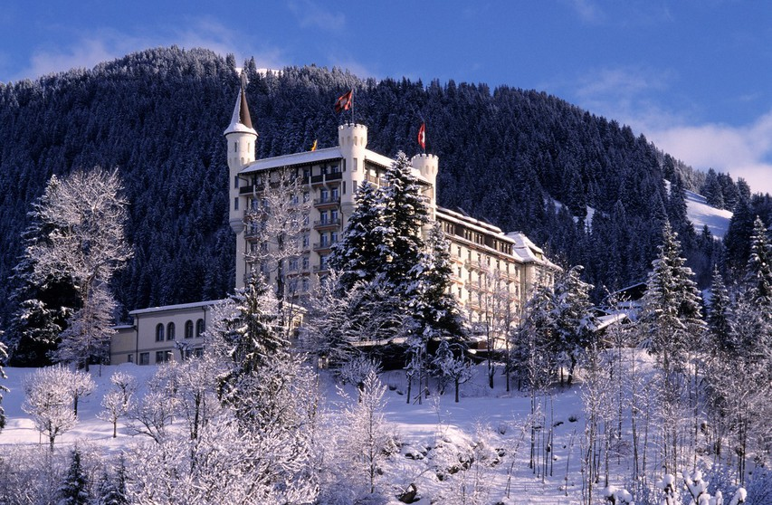 Gstaad, Švica, hotel Palace